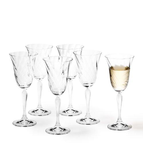 Leonardo 017735 Set de 6 Verres Vin Blanc Volterra