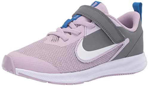 Nike Downshifter 9 (PSV) Mädchen Sportschuh Größe 32 EU Violett (Flieder)