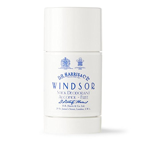 D. R. HARRIS Alcohol deodorant sticke Windsor Stick Deodorant - 75g | A Solid Deodorant Stick with the Fresh Fragrance of Windsor | Dr Harris, Non Alcoholic, Alcohol free Deodorant