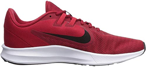 Nike Downshifter 9, Zapatillas de Running para Hombre, Rojo (Gym Red/Black/Univ Red/White 600), 43 EU