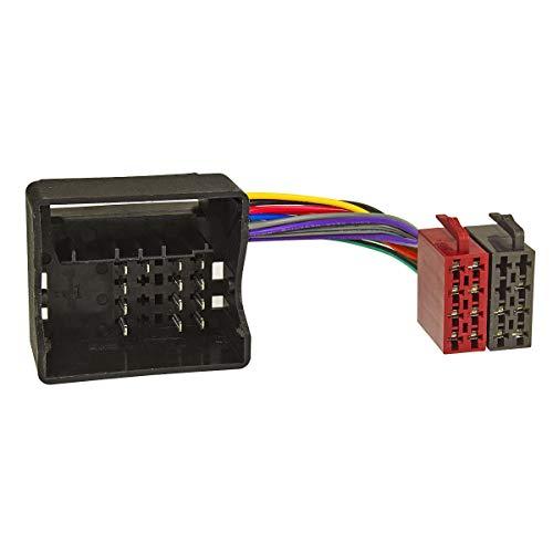 tomzz Audio 7004-003 Radio Adapter Kabel passend für BMW alle Modelle ab 02, Ford, Mini ab 2002, Quadlock auf 16pol ISO Norm