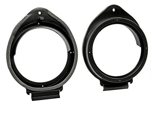 2 Entretoises Haut-parleur EN540 compatible avec Chevrolet Opel Cadillac Hummer D165mm