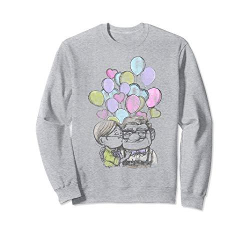 Disney Pixar Up Carl And Ellie Love Graphic Sweatshirt