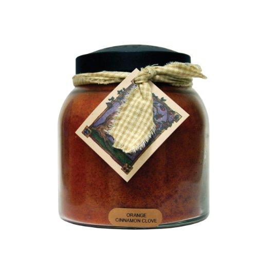 A Cheerful Giver Orange Cinnamon Clove 34 oz. Papa Jar Candle, 34oz