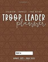 Troop Leader Planner: 2019-2020 Organizer For Brownie & Multi-Level Troops