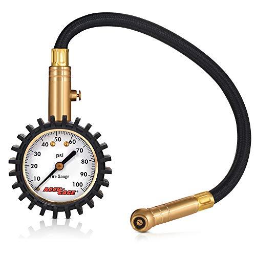 ACCU-GAGE Bicycle Tyre Pressure Gauge