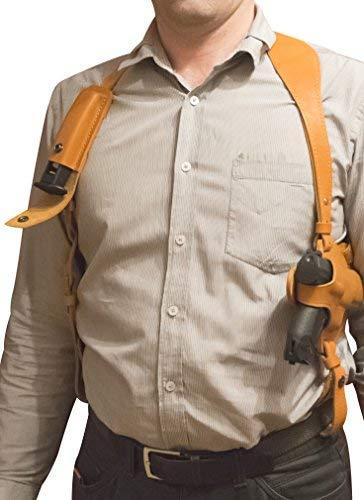 VlaMiTex Lederen Schouder Holster voor Walther P99