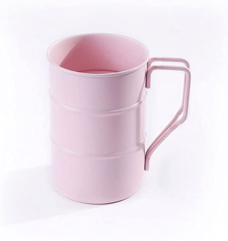 Taza de café Taza de la Taza de Agua, Taza de Cerveza de Metal Industrial de Acero Inoxidable de la Taza de la Cerveza, Taza de la Bebida a Prueba de Gotas Taza de Agua de la Marca del hogar Café/Té