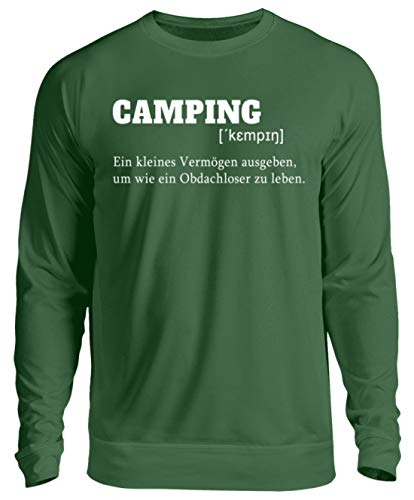 Nukular Camping Definition - Unisex Pullover