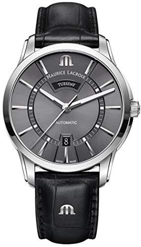Maurice Lacroix PONTOS DAY DATE Reloj Automático para hombres Clásico & sencillo