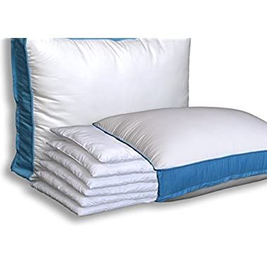Pancake Pillow The Adjustable Layer Pillow. Custom Fit Your Perfect Pillow Height. Queen Size Luxury Pillow