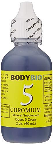 BodyBio Chromium 5 Liquid Mineral, 2 oz