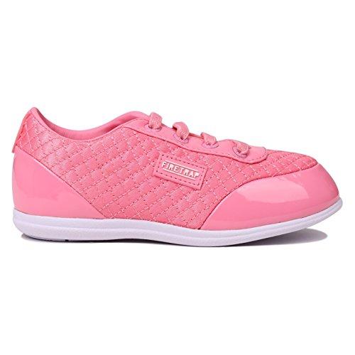 Firetrap Enfants Dr domello bébé Chaussures de Sport Plat - Rose - Rosa1,