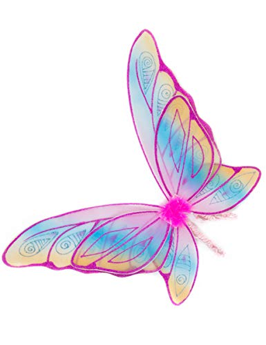 Great Gizmos Glitzer-Regenbogen-Flügel (Pink)