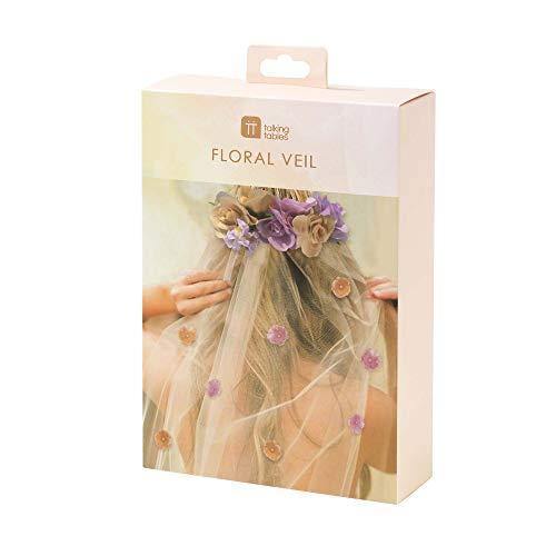 Blossom Girls Floral Headband & Veil