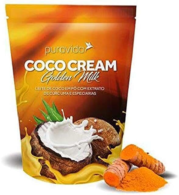Coco Cream Golden Milk - Leite de Coco, Cúrcuma e Especiarias