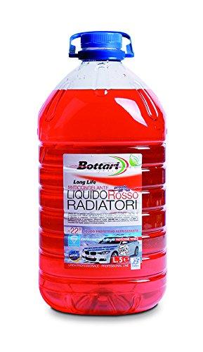 Bottari 31373 Liquido per Radiatori Rosso Anticongelante Long Life
