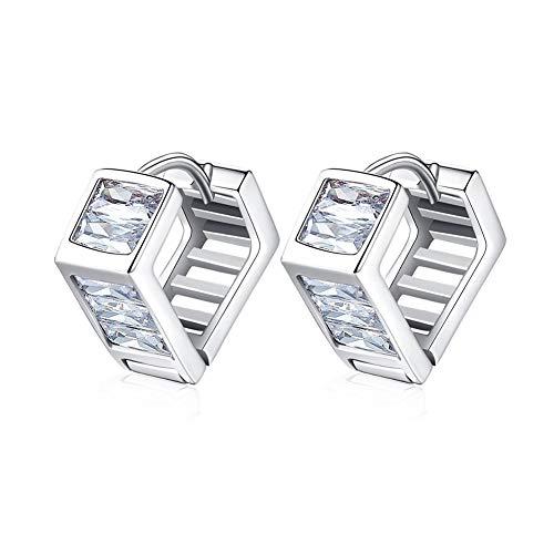 SDKOY Gold vergulde 2019 nieuwe stud oorbellen voor vrouwen - Maze Ladder Design, Gusto Intimo geschenk voor je/jong/echtgenote, verpakking