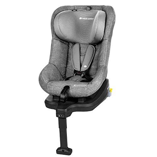 Bébé Confort Tobifix Seggiolino Auto 9 18 kg Reclinabile Isofix con Base Integrata, Gruppo 1, 9 Mesi - 4 Anni, Colore Nomad Grey