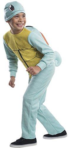 Rubie's Costume Pokemon Squirtle Child Costume, Large