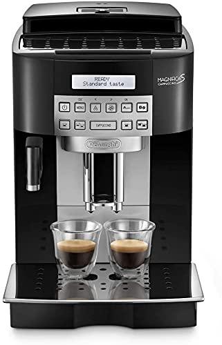 De'Longhi ECAM22.360.B Magnifica S Macchina da caffè Automatica, 1450 W, 1.8 Litri, Acciaio,...
