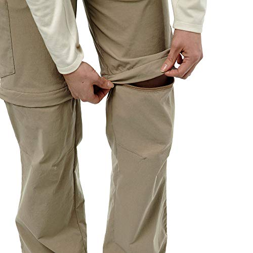 Craghoppers W NosiLife Pro Convertible Hose Braun, Damen Hose, Größe 42-16 - Farbe Mushroom