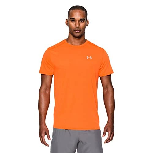 Under Armour, Threadborne Streaker SS, Maglietta A Maniche Corte, Uomo, Arancione (845), XL