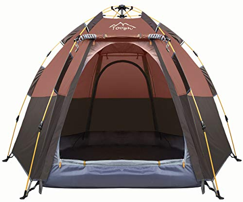 Toogh 3-4 Person Camping Tent Backpacking Tents...