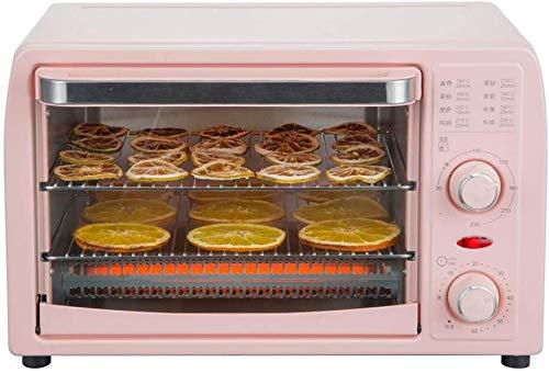 UYZ Four électrique, Petit Four Multifonction pour séchoir à Fruits entièrement Automatique, avec Plaque de Cuisson, Gril, Gants, 13L