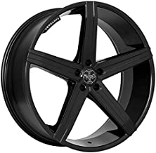 Versante VE228 – 20 Inch Rims – Set of 4 Matte Black Wheels – Made for Sports Racing Cars – Fits Challenger, Charger, Mustang, Camaro, Cadillac and More (20x8.5) – Rines Para Carros – Car Rim Wheel
