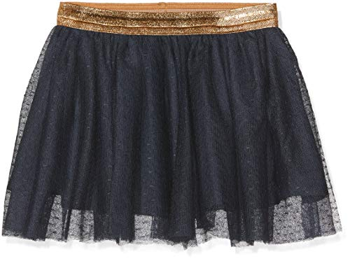 Name It Nkftullu Tulle Skirt Noos Jupe, Bleu (Dark Sapphire), 50L (Taille Fabricant: 98) Bébé Fille