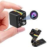 【2020最新型】seinal 小型カメラ 隠しカメラ 1080P高画質 広角 ミニカメラ 超小型 長時間録画 録音 防犯監視カメラ 屋外屋内用 内置電池式 赤外線暗視 動体検知 スパイカメラ 広角 操作簡単