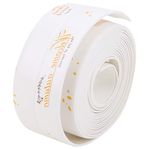 Sealing Tape, Smooth Silicone Sealing Sticker Bathroom Sink with PVC and Acrylic Waterproof Wide Range