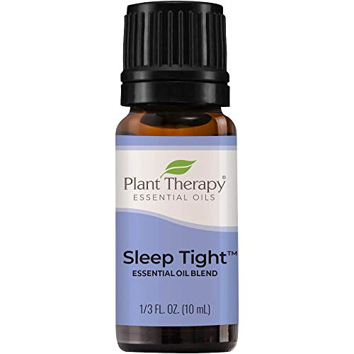 Plant Therapy Sleep Tight Essential Oil Blend 10 mL (1/3 oz) 100% Pure, Undiluted, Therapeutic Grade