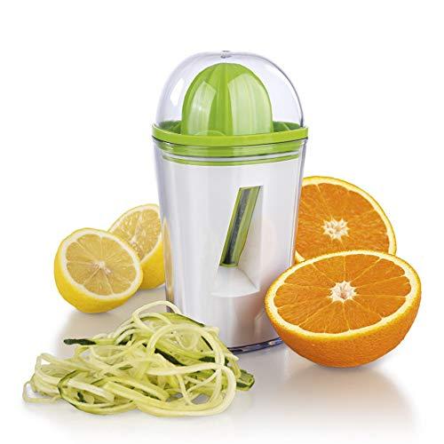 Spiralizer vegetal, 3 en 1 Accesorios de cocina Spiralizer/Exprimidor/pelador de verduras, patata...