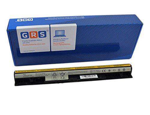 GRS Batterie pour Lenovo IdeaPad Z710, Lenovo G500s, S510p, G505s, G400s, S510p, G410s, G405s, remplacé: L12L4A02, L12L4E01, L12M4E01, L12S4A02, L12M4A02, L12S4E01, L1254E01