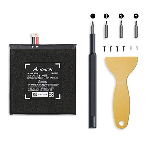 Batería HAC-003 de Repuesto Antank para Consola de Juegos Nintendo Switch [2017], Batería de 4310 mAh con Kit de Herramientas de Reparación de Bricolaje