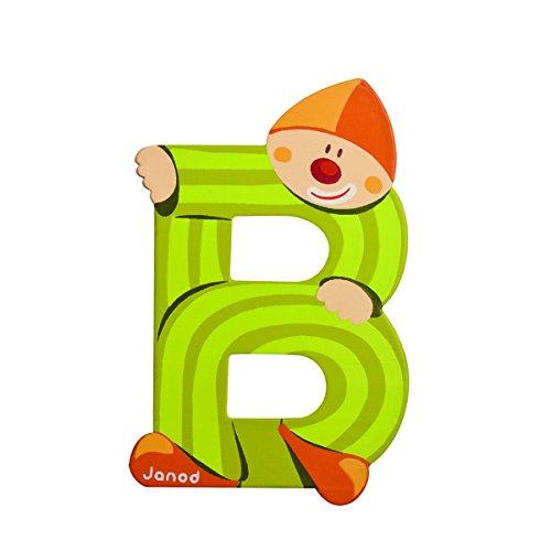 Janod 4504543 Lettres Clown B