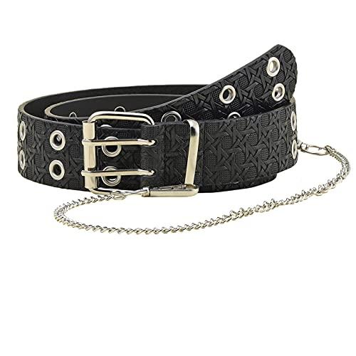 Men Leather Belt,Big Deals!Metal Single Prong Buckle Belt,BCDshop Classic Soft Pin Buckle Belt (Black)