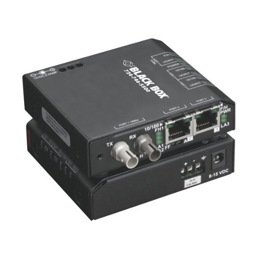 Black Box Network Services Hardened Media Converter Switch
