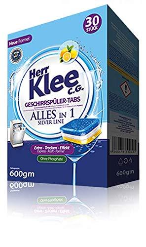 Herr Klee Dishwasher Tablets - Pack of 30 Tabs