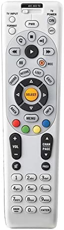TekTres RC66 RC65 RC64 Replacement Remote Control for Directv Satellite Cable TV DTV Compatible Receiver D12, D11,R22,R16, R15,HR24,H24,HR20, H20, HR21, H21, HR22, H23, HR23