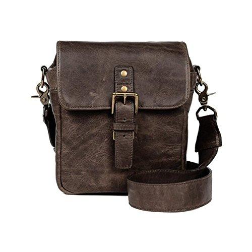 Ona–Die Bond Street–Kamera Messenger Bag–Leder trüffel dunkelbraun (ona5–064ldb)
