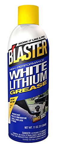 B'laster 16-LG High-Performance White Lithium Grease - 11-Ounces