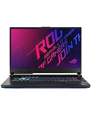 ROG STRIX G712LV-EV009T STRIX G Gaming Laptop (Orignal Black) Intel Core i7-10750H Processor 2.6 GHz, NVIDIA GeForceRTX 2060, 6GB GDDR6, 1TB, 17.3 inch,Windows 10,Eng-Arb-KB