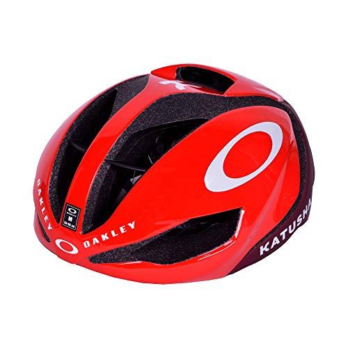 Oakley ARO5 Katusha - Casco de Ciclismo (Talla M), Color Rojo