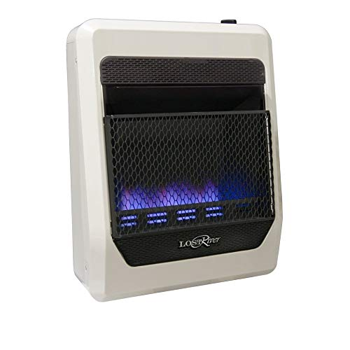 Lost River Dual Fuel Ventless Blue Flame Gas Space Heater - 20000 Btu Model# Pcit20bf White