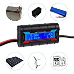200A High Precision Power Analyzer Watt Meter Battery Consumption Performance Monitor with LCD Backlight for RC, Battery…