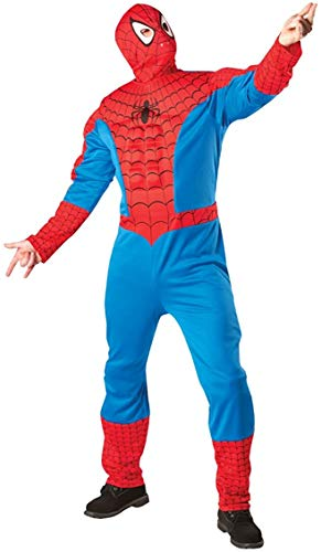 GYL Costume d'halloween Marvel Spiderman Costume adulte mascarade Cosplay scène de fête applicable,M