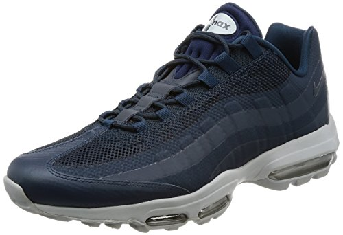 Nike Air MAX 95 Ultra Essential Hombres Running 857910 Sneakers Turnschuhe (UK 5.5 US 6 EU 38.5, Armory Navy 404)